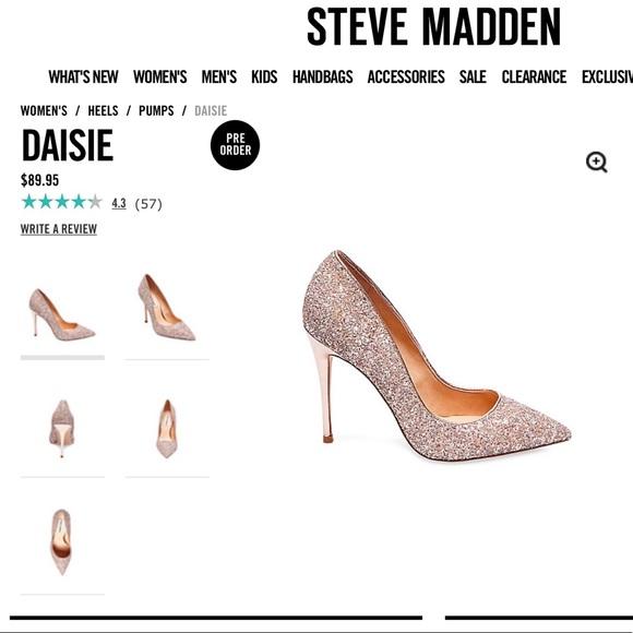 735a3d2ca99 Steve Madden daisie glitter ✨